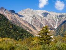 Valle di Kamikochi nel Giappone Immagini Stock Libere da Diritti