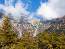 Valle di Kamikochi nel Giappone Immagini Stock