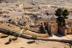 Valle di Kidron fotografia stock