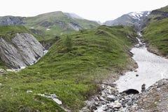 Valle di Koednitz in alto Tauern NP, Austria Fotografia Stock