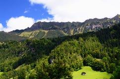 Valle di Lauterbrunnen (regione di Jungfrau, Svizzera) Fotografie Stock