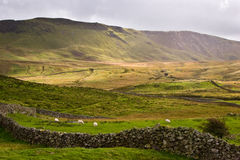 Valle di Lingua gallese fotografia stock