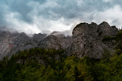 Valle di Logar Fotografia Stock Libera da Diritti