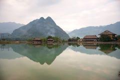 Valle di MAI Chau, Vietnam del nord Fotografia Stock