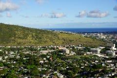 Valle di Manoa sull'isola di Oahu Fotografie Stock