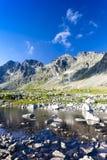 Valle di Mengusovska Fotografia Stock