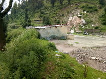 Valle di Mughal Strada-Kashmir Immagini Stock Libere da Diritti