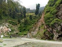 Valle di Mughal Strada-Kashmir Fotografia Stock Libera da Diritti
