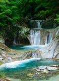 Valle di Nishizawa in Yamanashi, Giappone immagini stock