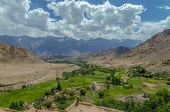 Valle di Nubra, il regno della natura non scoperto fotografie stock libere da diritti