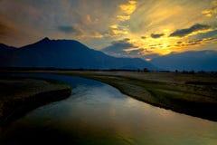 Valle di Nubra, Leh Ladakh, India Immagine Stock Libera da Diritti
