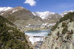 Valle di Nuria, Spagna Fotografia Stock