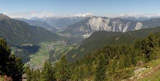 Valle di Oetztal Immagine Stock