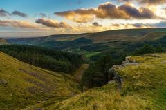 Valle di Ogmore, Mid Glamorgan, Galles, Regno Unito immagine stock