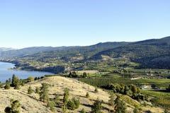 Valle di Okanagan della Columbia Britannica di Penticton Immagini Stock Libere da Diritti
