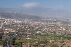 Valle di Orotava immagine stock