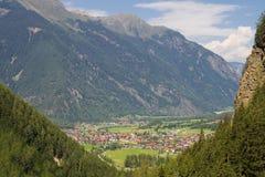 Valle di Otztal Immagini Stock