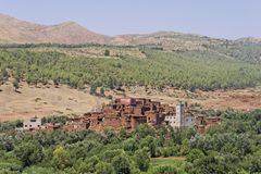 Valle di Ourika Immagine Stock