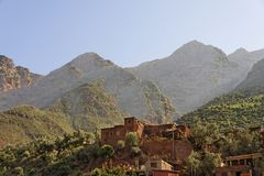 Valle di Ourika Fotografie Stock