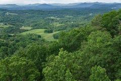 Valle di Roanoke nella primavera Immagine Stock