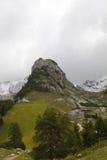 Valle di Rofan alle montagne di Karwendel Fotografia Stock Libera da Diritti