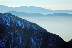 Valle di Salt Lake Fotografia Stock