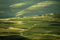 Valle di Senqu Fotografie Stock