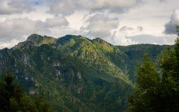 Valle di Seriana Fotografia Stock