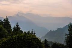 Valle di Seriana Fotografie Stock