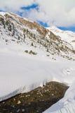 Valle di Stubai Fotografia Stock