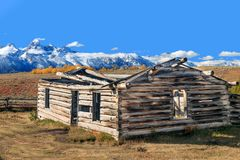 Valle di Teton nella caduta Immagine Stock Libera da Diritti