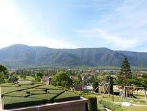 Valle di Toscana Fotografie Stock