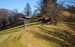 Valle di Tuhinj, Slovenia Fotografie Stock Libere da Diritti