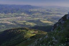 Valle di Turiec Immagine Stock