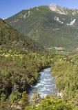 Valle di Ubaye (alpi francesi) Immagine Stock Libera da Diritti