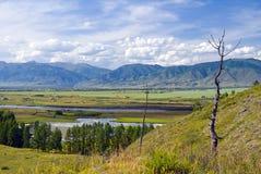 Valle di Uymon Fotografia Stock