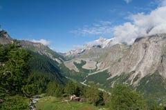 Valle di Veny su estate Fotografia Stock