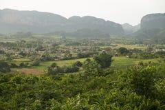 Valle di Vinales, destinazione di viaggio di Cuba Immagine Stock