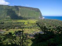 Valle di Waipio Fotografie Stock