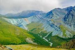 Valle di Yarlu altai La Russia Fotografia Stock Libera da Diritti