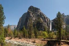Valle di Yosemite, California fotografia stock
