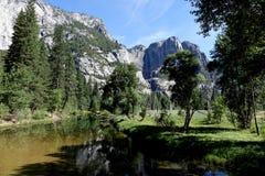 Valle di Yosemite - California Fotografie Stock Libere da Diritti