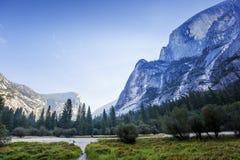 Valle di Yosemite, parco nazionale di Yosemite, California, S.U.A. Fotografia Stock