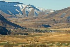 Valle dorata - villaggio della Rodi Immagine Stock
