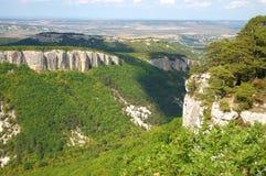 Valle e rocce Immagine Stock Libera da Diritti