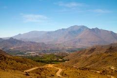 Valle Elqui, Chili royalty-vrije stock foto's
