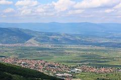 Valle en Bulgaria central Fotos de archivo libres de regalías