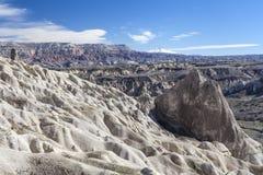 Valle en Capadocia Turquía Foto de archivo libre de regalías