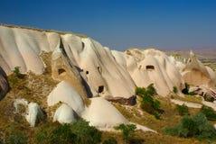 Valle en Cappadocia, Turquía de la miel Foto de archivo libre de regalías