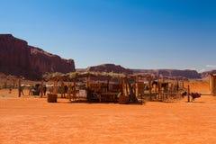 Valle en el parque tribal de Navajo, los E.E.U.U. del monumento Imágenes de archivo libres de regalías